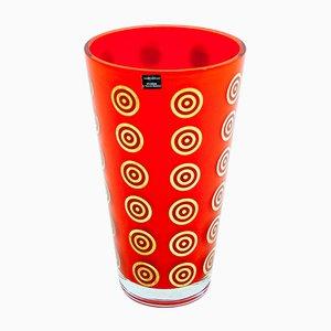 Vintage Memphis Vase von Defne Koz für Sottsass Associati Egizia