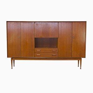 Teak Cabinet with a Flap Door, 1960s