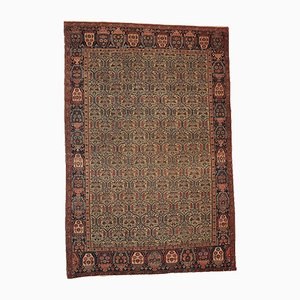 Antique Middle Eastern Handmade Rug, 1860s