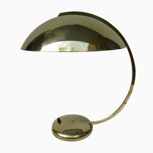 Lámpara de mesa HALA 38 de latón de Hannoversche Lampenfabrik GmbH, Wehrkamp-Richter & Co., años 30