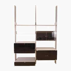Aluminum Modular Shelf by Michel Ducaroy for Ligne Roset, 1970s