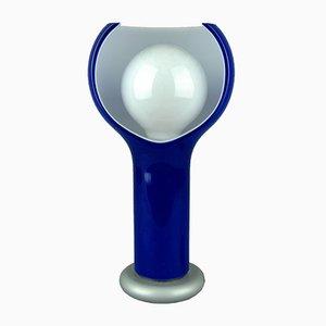 Lámpara de mesa vintage de cristal de Murano de Joe Colombo para Oluce