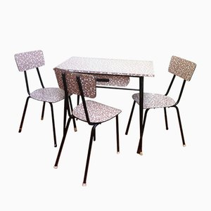 Spanish Formica Dining Set, 1960s