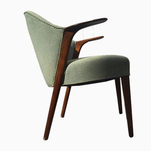 Danish No. 31 Easy Chair by Kurt Olsen for Slagelse Møbelfabrik, 1952