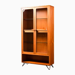 Mid-Century Teak Glass Display Drinks Cabinet from G-Plan