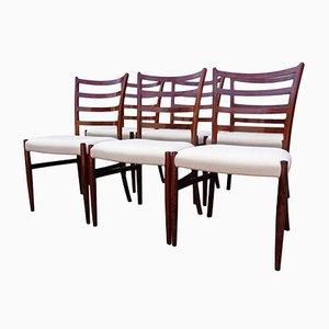 Chaises de Salle à Manger en Palissandre par Johannes Andersen pour SVA Møbler, 1960s, Set de 6