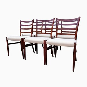 Rosewood Dining Chairs by Johannes Andersen for SVA Møbler, 1960s, Set of 6