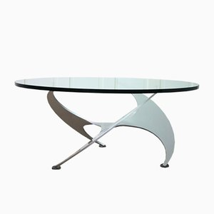 Mid-Century Propeller Coffee Table by Knut Hesterberg for Ronald Schmitt, 1960s