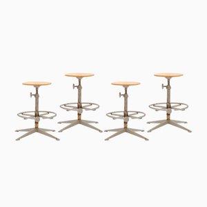 Industrial Atelier Chairs by Friso Kramer for Ahrend De Cirkel, 1963, Set of 4