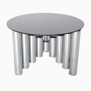 Chromed Manhattan Coffee Table, 1960s