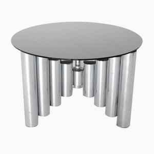 Tavolino da caffè Manhattan cromato, anni '60
