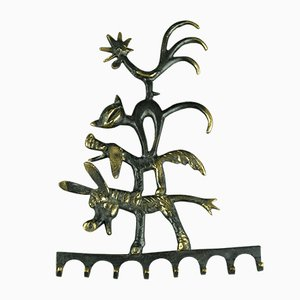 Town Musicians of Bremen Key Hanger by Walter Bosse for Hertha Baller, 1950s