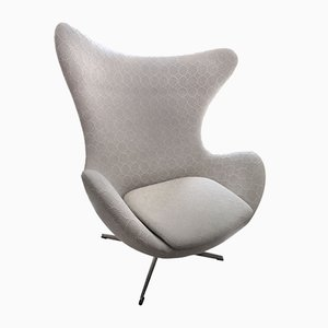 Mid-Century Danish Egg Chair by Arne Jacobsen for Fritz Hansen