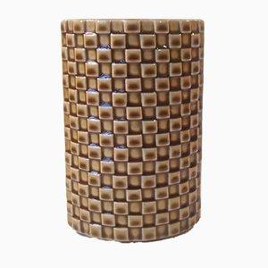 Finnische Mid-Century Modernistische Harlekin Vase von Kaarina Aho für Arabia, 1960er