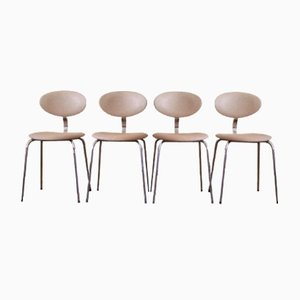 Stühle aus Kunstleder von Rudi Verelst für Novalux, 4er Set