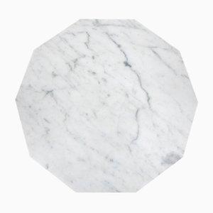 Piatto decagonale in marmo di Fort Standard
