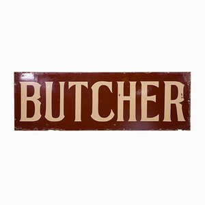 Antikes Butchers Schild