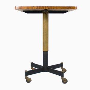 Tavolo girevole e regolabile di Paolo Tilche per Arform, anni '50