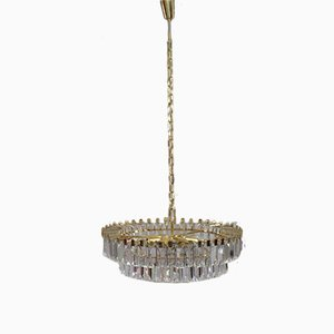 Viennese Crystal Glass Chandelier from Bakalowits & Söhne, 1960s