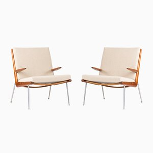 Boomerang Lounge Chairs by Peter Hvidt and Orla Møllgaard for France & Søn, 1960s, Set of 2