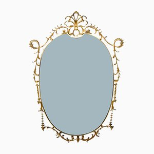 Italian Decorative Wall Mirror, 1960s