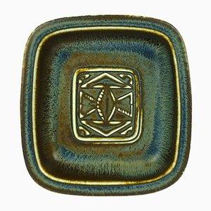 Bandeja vintage de cerámica de Gunnar Nylund para Rörstrand