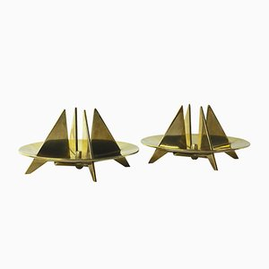 Vintage Candle Holders by Pierre Forsell for Skultana, Set of 2