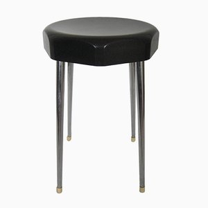 Vintage Stool with Bakelite Seat from Vynco Luxe