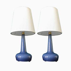 Lampe de Bureau Model 311 Vintage par Esben Klint pour Holmegaard, Danemark, Set de 2
