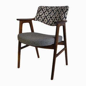 Mahagoni & Palisander Armlehnstuhl von Erik Kirkegaard für Høng Stolefabrik, 1950er