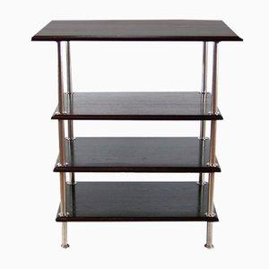 Functionalist Chromed Shelf, 1910s