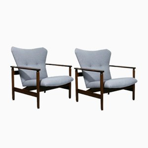 Vintage Dutch Organic Lounge Chairs from TopForm, Set of 2