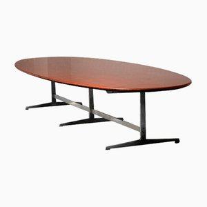Table de Salle à Manger Vintage en Wengé par Arne Jacobsen pour Fritz Hansen