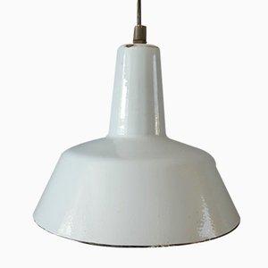 Vintage Industrial Enamel Pendant Lamp
