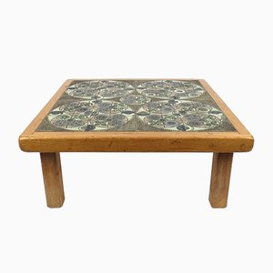 Table Basse avec Plateau en Céramique par Pinson, 1960s