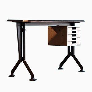 Bureau Arco Vintage en Métal par BBPR pour Olivetti