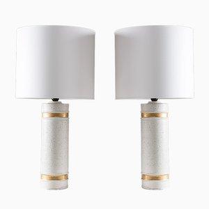 Lámparas de mesa de Bitossi para Bergboms, años 60. Juego de 2