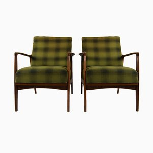 Dänische Sessel von Wilhelm Knoll, 1960er, 2er Set