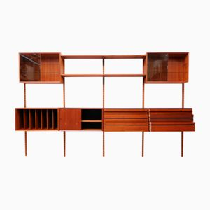 Vintage Teak Royal System Wall Unit by Poul Cadovius for Cado