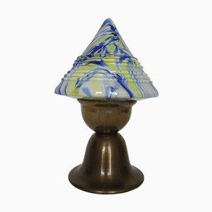 Lampe de Bureau Mushroom Art Déco, 1930s
