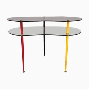 Italian Arlecchino Occasional Table by Edoardo Paoli for Vitrex, 1960s
