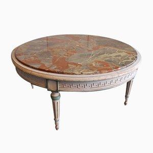 Tavolino da caffè in marmo di J.F. Pogge & Zoon, anni '70