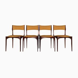 Vintage Chairs by Giuseppe Gibelli for Sormani, Set of 4