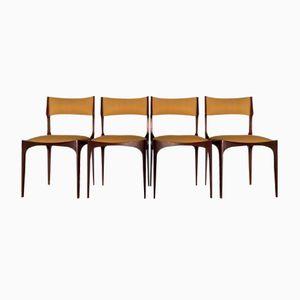 Vintage Stühle von Giuseppe Gibelli für Sormani, 4er Set