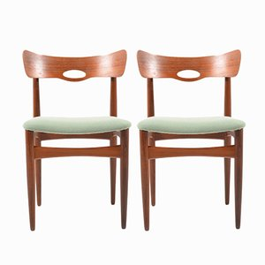 Dänische Stühle aus Teak von Bramin, 1960er, 2er Set