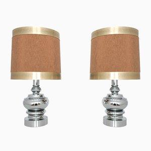 Vintage Tischlampen von Hustadt Leuchten, 2er Set