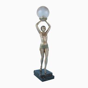 Art Deco Lampe von Enrique Molins-Balleste, 1920er