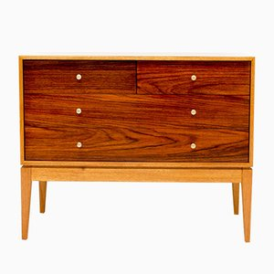 Vintage Teak and Rosewood Chest of Drawers by Peter Hayward for Uniflex