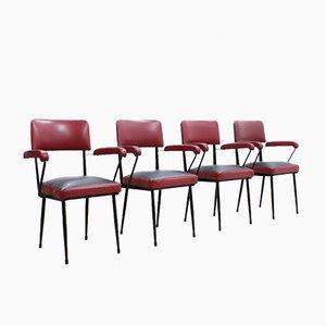 Chaises de Salon Mid-Century par RIMA Padova, Set de 4