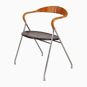 Swiss Saffa HE103 Chair by Hans Eichenberger for Dietiker, 1955